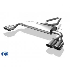 Range Rover III - LM final silencer exit right/left  - 2x115x85 type 32 right/left