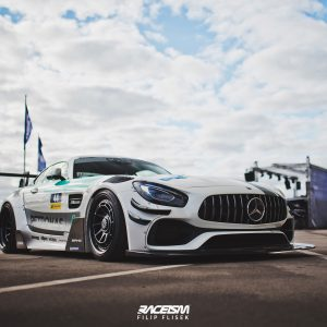 Breitbau Bodykit passend für + SET OF SPLITTERS MERCEDES-AMG GTS FACELIFT